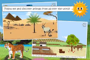 Screenshot of Learn animals: free kids game