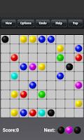Screenshot of Color Lines