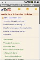 Screenshot of Curso Photoshop CS5 Demo