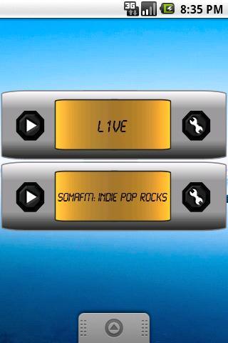 Web Radio Widget Demo