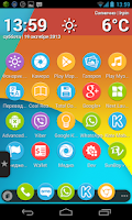 Screenshot of Nexus 5 Multi Launcher Theme