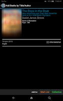 Screenshot of CLZ Books - Book Database