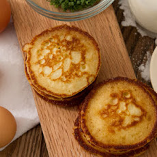 Sour Cream Blinis with Robin Leach