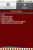Screenshot of Sabores do Brasil
