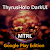 DarkMTRL ThyrusHolo CM11 Theme file APK Free for PC, smart TV Download
