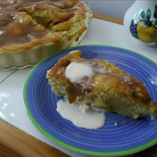 Fudge Apple Tart - Microwave Oven Version