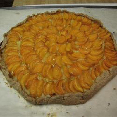 Apricot Almond Galette