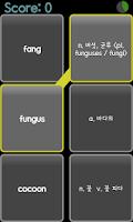 Screenshot of AE 고등학교 공통영어 교과서단어