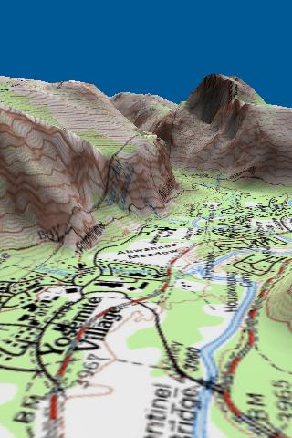Route3D Yosemite to Whitney