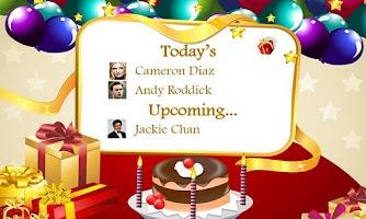 Screenshot of Birthday Wish - Free