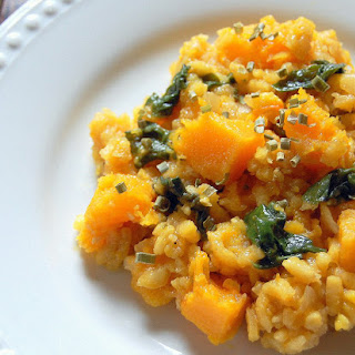 Saffron Risotto with Butternut Squash