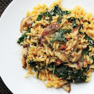 fusilli with bacon onions and mushrooms martha stewart yellow onion ...