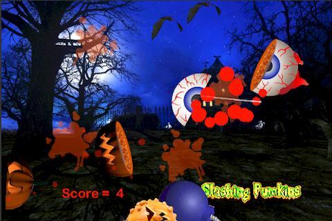 Slashing Pumpkins Free