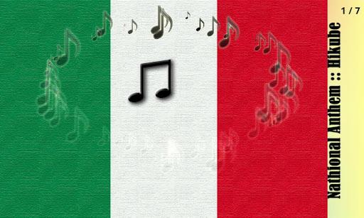 イタリア共和国の国歌::弾くべ fa