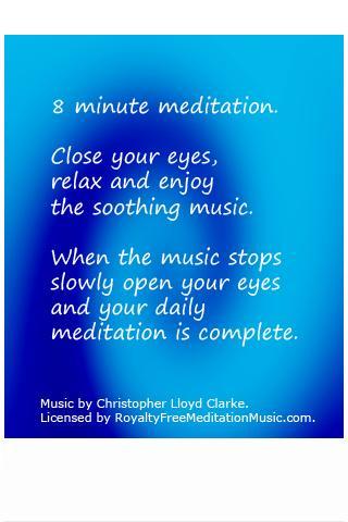 8 min meditation music Free