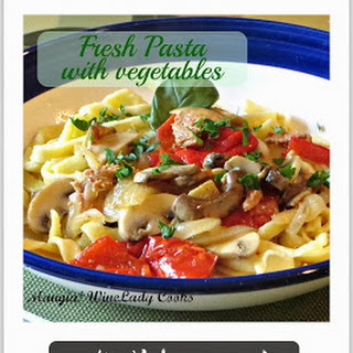 Simple Pasta Sauce With Fresh Vegetables