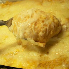 Mashed Potato-Pumpkin Gratin