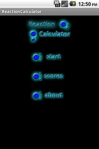 Reaction Time Calculator