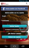 Screenshot of KFC Domicilios Bogotá