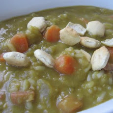Crock Pot Split Pea and Ham Soup