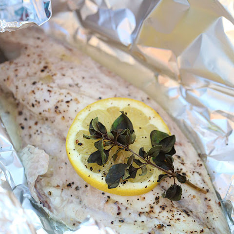 Grilled Fish Fillet in Foil Packets