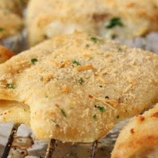 Fish Fillet In Breadcrumbs And Parmesan