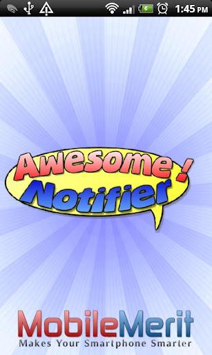 【免費個人化App】Awesome! Notifier-APP點子