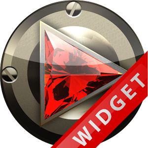 Poweramp Widget Iron Diamond