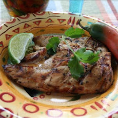 Tequila-Lime Grilled Chicken