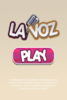 Screenshot of La voz!