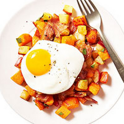 Apple-Sweet Potato Hash