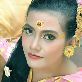 Beautiful Bride by Amin Basyir Supatra - Wedding Bride ( balinese, bali, prewedding, wedding, beauty, culture )