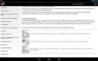 Screenshot of AmiKo Desitin