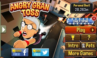 Screenshot of Angry Gran Toss