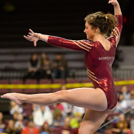 W. Gymnastics  - Michigan State at Minnesota by David Drufke - Sports & Fitness Other Sports ( rachel haines, ncaa, sports, sport, gopher gymnastics, university of minnesota, big ten, gymnastics, women's gymnastics )