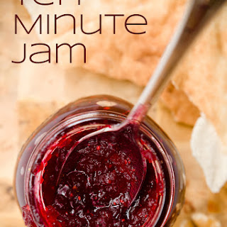 Homemade Tart Cranberry Jam in Ten Minutes