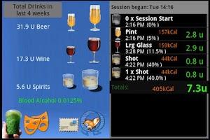 Screenshot of Boozerlyzer