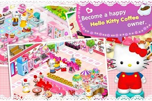 Screenshot of Hello Kitty Coffee