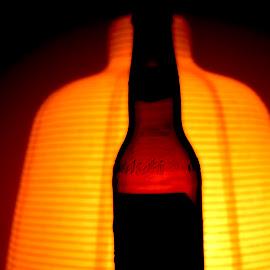 Asahi.... by Rahul Sarkar - Food & Drink Alcohol & Drinks ( beer, silhouette, alochol, happytimes, fun, party, asahi )