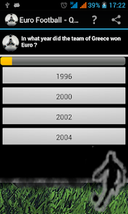 Euro Football Quizz - screenshot