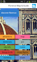 Screenshot of Florence Offline Map & Guide
