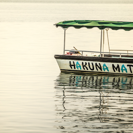 No Troubles by Gabriel Harding - Transportation Boats ( reflection, hakuna matata, ocean, around the world, travel, boat, tours, travel photography,  )