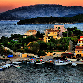 Kassiopi - Greece by Petrica Manzala - Landscapes Travel
