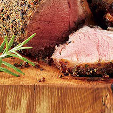 Rack Of Lamb With Olive Herb Crust