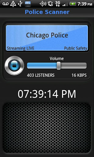 Police Scanner - screenshot