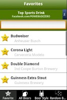 Screenshot of 7,800+ Beer Brands