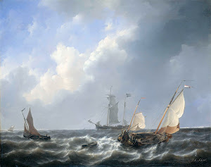 RIJKS: Petrus Johannes Schotel: painting 1827