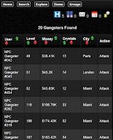 Screenshot of Crime Legends RPG