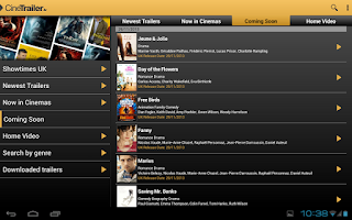 Screenshot of CineTrailer Cinema