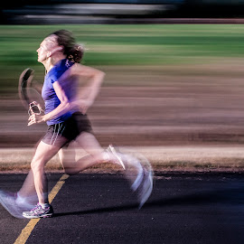Speed by Dave Lord - Sports & Fitness Running ( finish, speed, fast, run, motion )